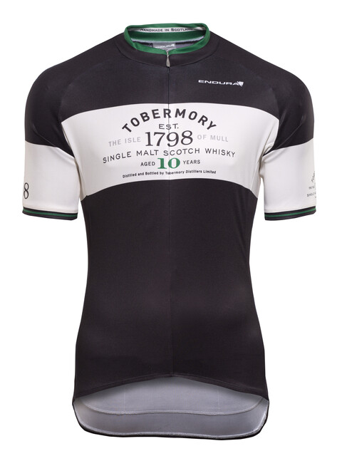 Endura Tobermory Whisky Kortärmad cykeltröja Herr svart